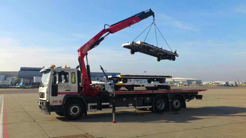 MTHL Recovery at heathrow airport