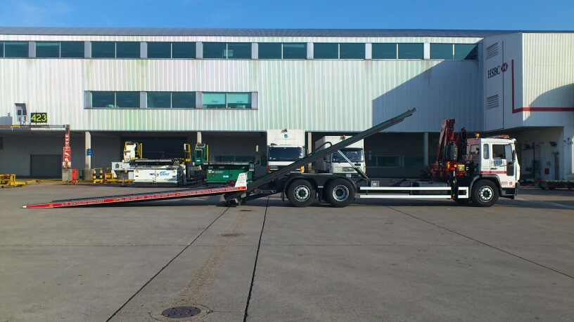 MTHL Low Loader HIAB
